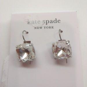 Kate Spade New Square Stone Earrings